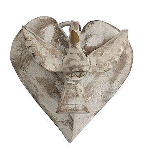 Coração com Divino Espirito Santo - MG