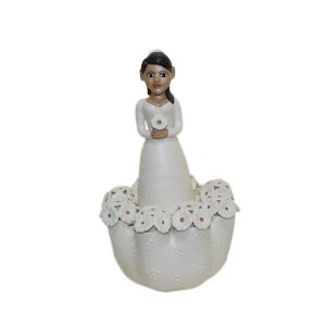 Escultura Noiva Maria Tereza
