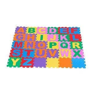 4fab4c32363 Tapete Alfanumérico Gigante Carlu - E.V.A. - 36 peças - Embalagem ...