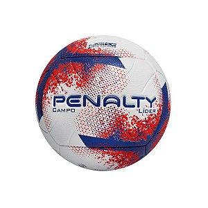 Bola de Futebol Campo Penalty Lider 21 Azul com Vermelho