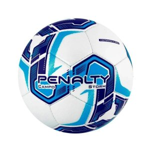 Bola de Futebol Campo Penalty Storm 21 Azul com Roxo