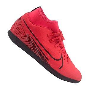 Chuteira Futsal Nike Infantil Superfly 7 Club Ic Vermelha
