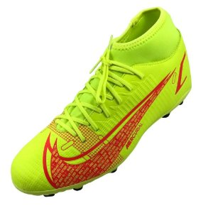 Chuteira Campo Nike Superfly 8 Club Verde fluorescente