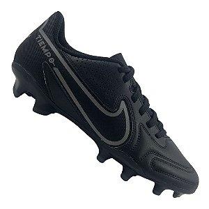 Chuteira Campo Nike Tiempo Legend 9 Club Preta