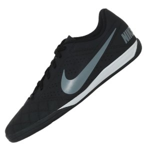 Chuteira Futsal Nike Beco 2 Preto com Cinza