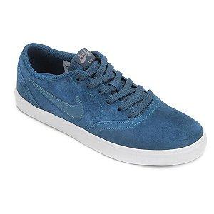 Tênis Nike Sb Check Solar Masculino - Azul Celeste
