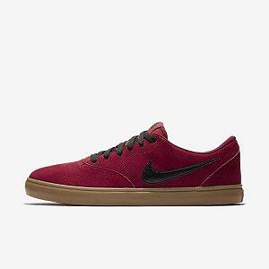 Tênis Nike Sb Check Solar Masculino - Vermelho