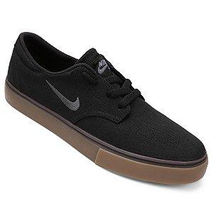 Tênis Nike SB Clutch Masculino - Preto com Marrom