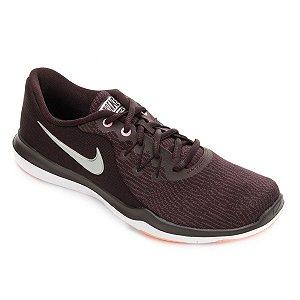 Tênis Nike Flex Supreme TR 6 Feminino - Vinho/Preto