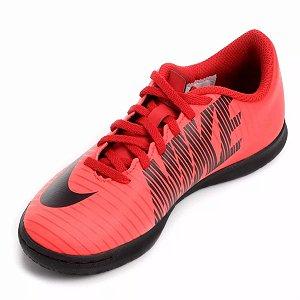 Chuteira Futsal Infantil Nike Mercurial Vortex 3 Vermelho