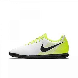 Chuteira Nike Futsal MagistaX Ola 2 - Branco/Verde