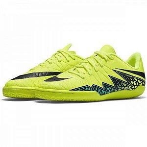 Chuteira Nike Jr HypervenomX Phelon 2 Infantil - Verde/Preto