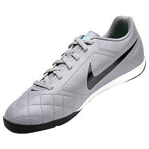 Chuteira Nike Futsal Beco 2 - Cinza/Preto
