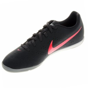 Chuteira Nike Futsal Beco 2 - Cinza/Rosa