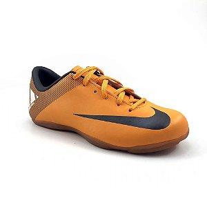 Chuteira Nike Jr Futsal Mercurial Victory 2 - Laranja