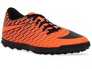 Chuteira Nike Society BravataX 2 - Laranja/Preto