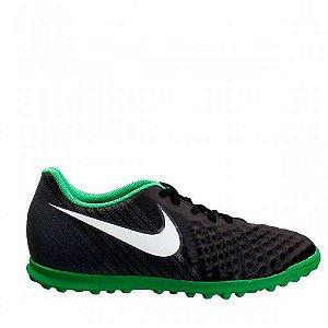 Chuteira Nike Society MagistaX Ola 2 - Verde/Preto