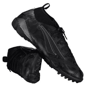 Chuteira Penalty Society RX Locker Stealth 8  - Preto/Prata