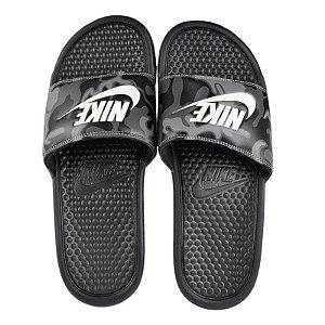 Sandália Nike Slide Benassi JDI Print Preto Masculino