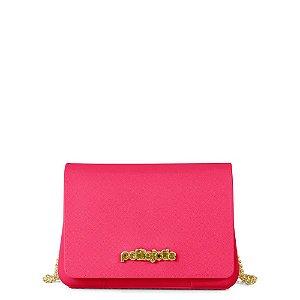 Bolsa Petite Jolie Feminina Pvc PJ3528 Pink