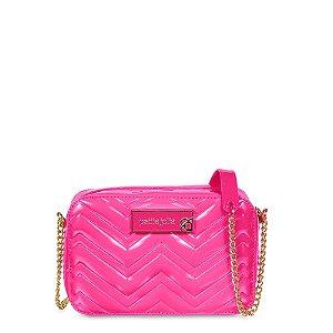 Bolsa Nic Petite Jolie PJ3957 Verniz Rosa Pink
