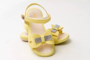 Sandália Infantil  Kidy Baby Equilíbrio - Amarelo