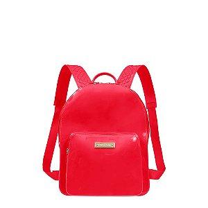 Mochila Petite Jolie Kit Feminina J-Lastic Pj2032 - Vermelha