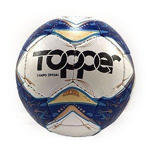 Bola de Futebol Topper Campo Oficial Asa Branca 2 - Azul