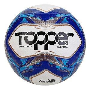 Bola de Futebol Topper Campo Oficial Samba Tech Fusion