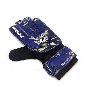 Luva Goleiro Poker Futebol Celerity Traning Azul