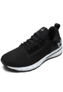 Tênis Under Armour Charged Cruize Preto com Branco Masculino