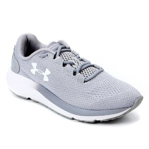 Tênis Under Armour Charged Pursuit 2 Cinza Masculino