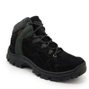 Bota Proforce Couro Adventure P135 Preto Masculino