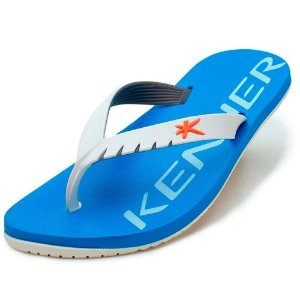 Chinelo Kenner Red Colors Azul Turquesa com Branco Masculino