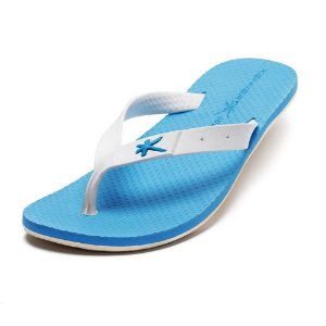 Chinelo Kenner Summer Torcida Azul com Branco Masculino