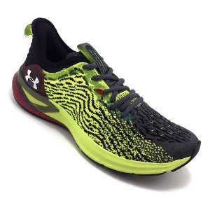 Tênis Under Armour Charged Stamina Verde com Cinza Masculino