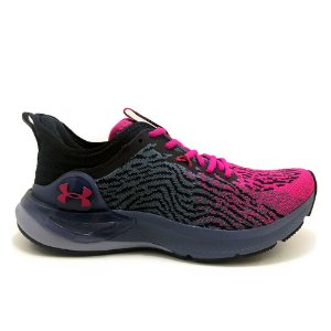 Tênis Under Armour Charged Stamina Lilás com Pink Feminino