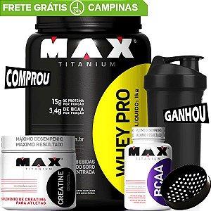 Combo Massa Muscular Max Titanium