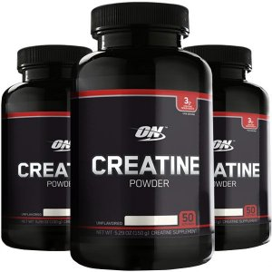 Combo de creatina black line Optimum importada (3x 150g)