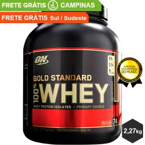 100% Whey Gold Standard - 2,27kg - Optimum Nutrition