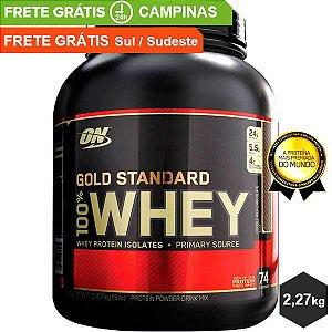 100% Whey Gold Standard - 2,27kg - Optimum Nutrition