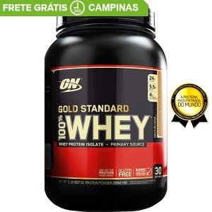 Whey Protein Gold Standard (909g) 2lbs - Optimum Nutrition