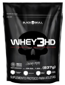 Whey 3HD 900G Black Skull