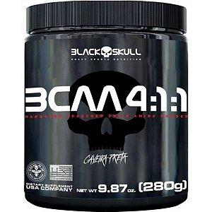 BCAA 4:1:1 280G BLACK SKULL CAVEIRA PRETA