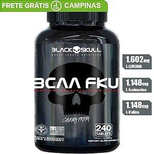 BCAA FKU 240 TABLETES BLACK SKULL CAVEIRA PRETA