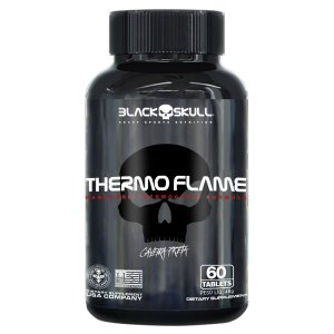 THERMO FLAME 60 Tables Black Skull Caveira Preta