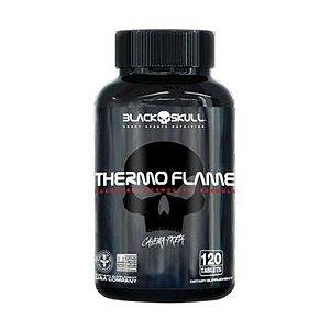 THERMO FLAME 120 TABS BLACK SKULL CAVEIRA PRETA