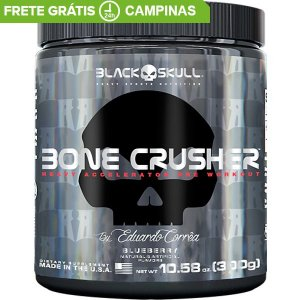 Bone Crusher 300g Black Skull