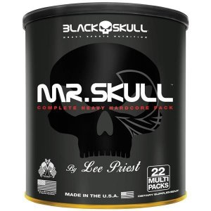MR. SKULL 22 PACKS Black Skull