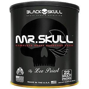 MR. SKULL 22 PACKS Black Skull